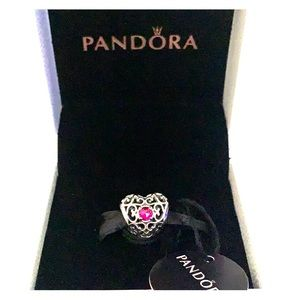 PANDORA SYNTHETIC JULY RUBY CHARM BRAND NEW